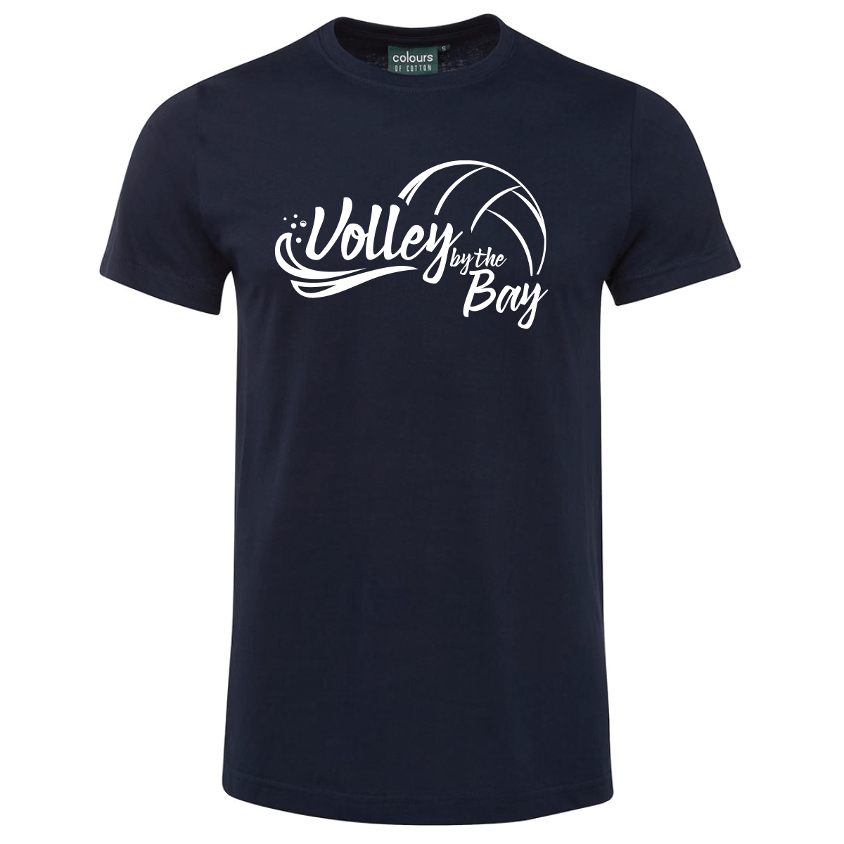 By the Bay - Navy Tee Ladies 1
